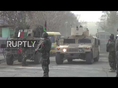 Afghanistan: At least 30 killed as IS claim attack on Kabul hospital