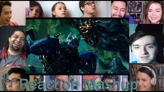 Transformers  5 The Last Knight Official Trailer # 3   REACTION MASHUP