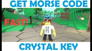 Roblox Ready Player One Event - Easily Get The Morse Code [Crystal Key]