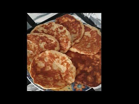 """recette-régime""-(pancake-à-la-banane)"