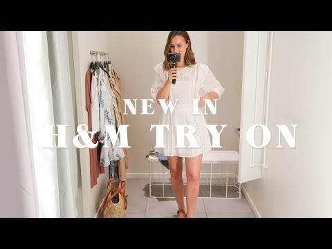 NEW IN H&M TRY ON | Laura Melhuish-Sprague thumbnail