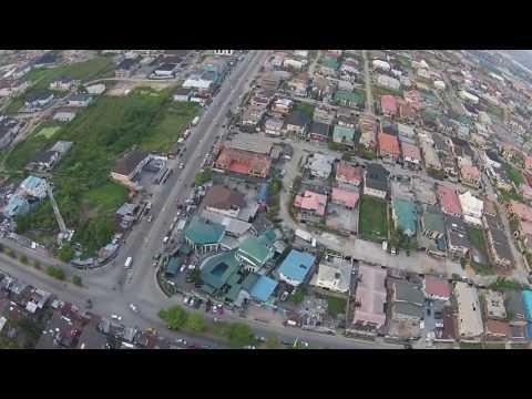 The City of Apapa , Nigeria (west) Port city