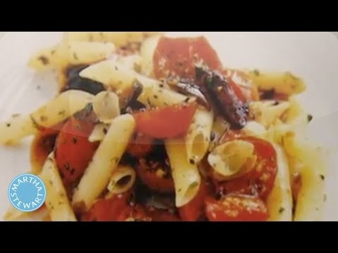 Penne With Cherry Tomatoes And Black Olives - Martha Stewart