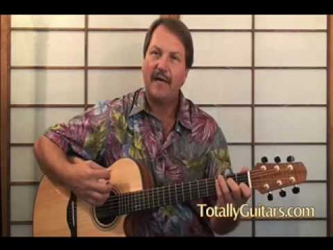 Learn To Play Have You Ever Seen The Rain Creedence Clearwater Revival Acoustic Guitar Lesson