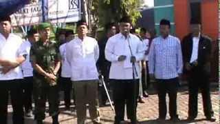 Sambutan Pemberangkatan Jama'ah Haji Probolinggo Oleh Wakil Bupati