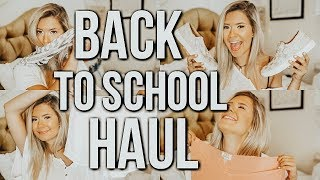 back to school haul 2018 | casual college style