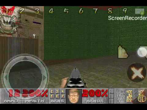 DOOM 2 FINAL BOSS SECRET