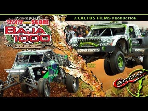 2012 TECATE SCORE BAJA 1000 CACTUS FILMS TRAILER