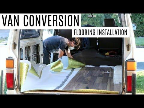 VAN CONVERSION - Floating Floor Installation