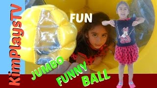 Jumbo Funny Ball Family Size Fun World's Best Moments Enjoying With Family