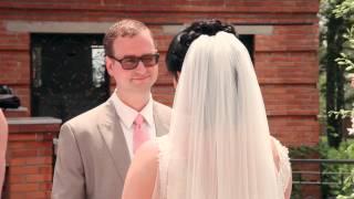 Эля и Мартин, 01.06.2013 свадьба во дворике гостиницы