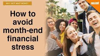 How millennials can avoid month-end financial stress