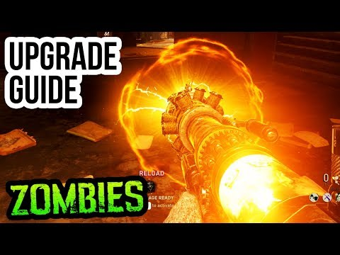"FINAL REICH TESLA GUN UPGRADE GUIDE & TUTORIAL!! (WW2 Zombies ""REAPER"" Upgrade Tutorial)"