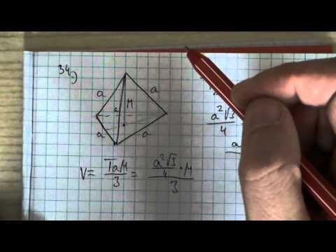 12. o. Térgeometria 02 - Hasáb, gúla, henger, kúp és gömb