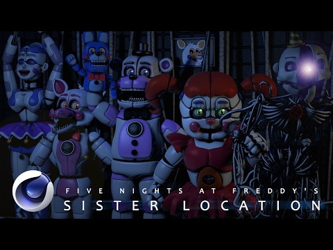 [C4D|FNaF] Sister Location Pack DOWNLOAD