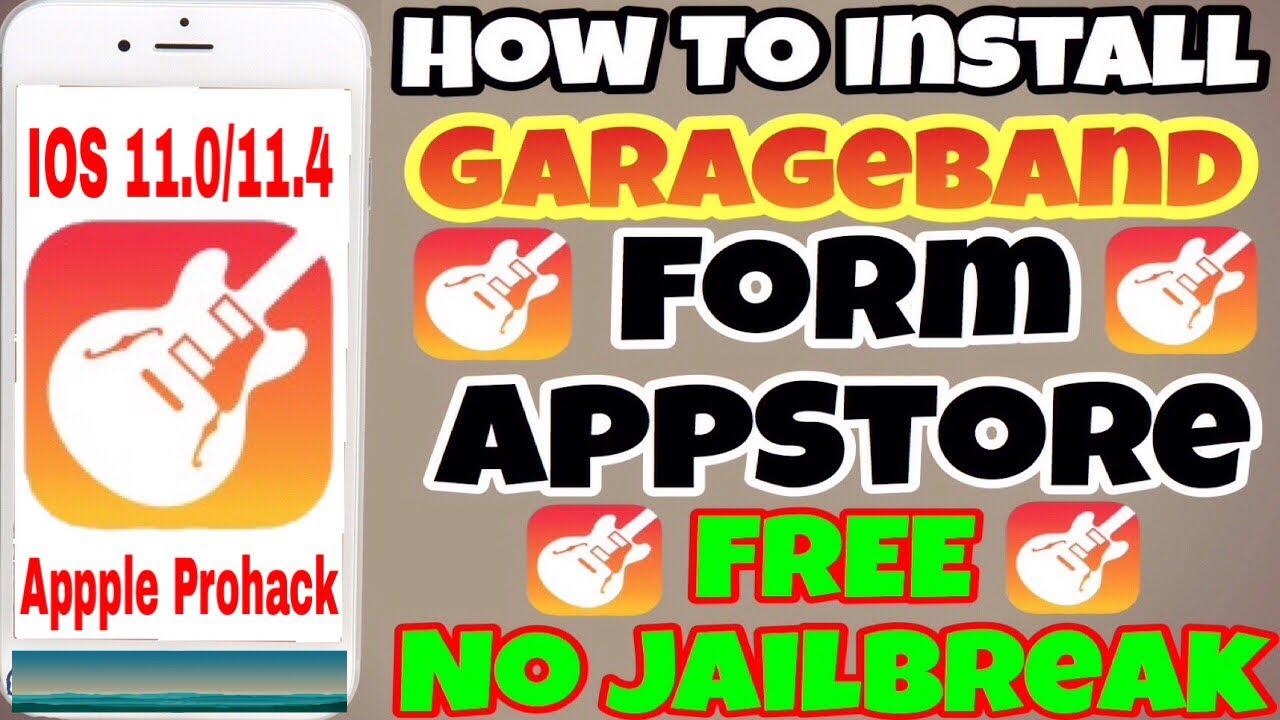 Download Garageband Free for ios 11 0/11 4
