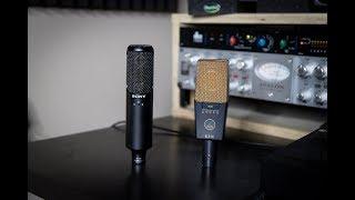 Sony C100 vs AKG C414 xlii (rap vocal)