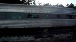 "Maine Eastern Railroad FL9 ""Streamliner""  in Brunswick (no music)"