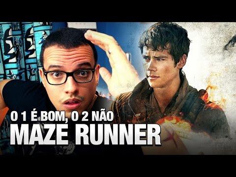 MAZE RUNNER: O 1 É BOM, O 2 NEM TANTO (Maze Runner: Prova de Fogo) - Vlog do TN 70