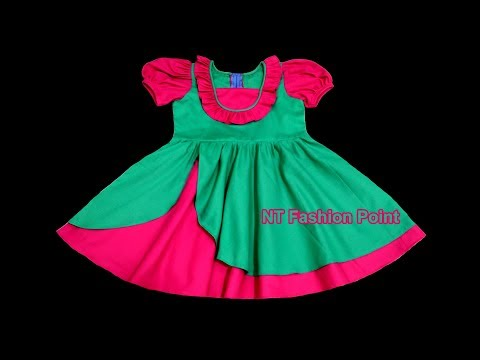 Baby Girls Dresses Designs Cutting