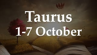 Taurus Weekly Tarot 1-7 October 2018  - Aquarian Insight