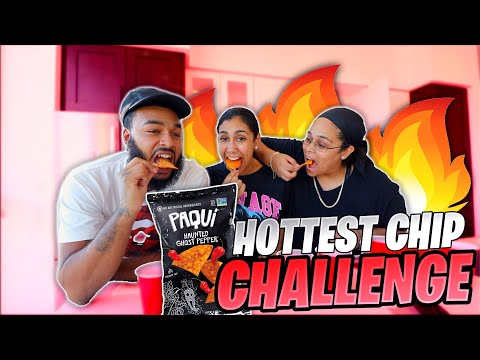 WE TRIED THE HOTTEST CHIP (GHOST PEPPER) AND IT WENT LEFT!!! FEAT. PIO