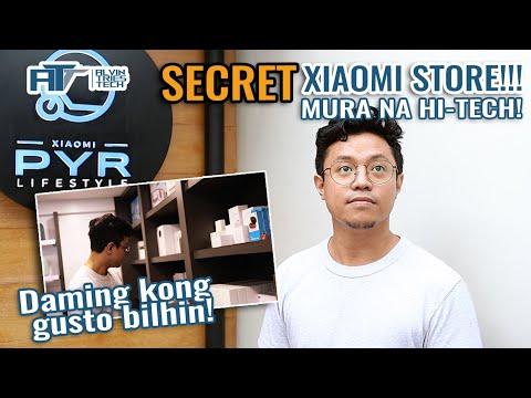 SECRET Xiaomi Store sa Metro Manila para sa Smart Appliances & more for your home!