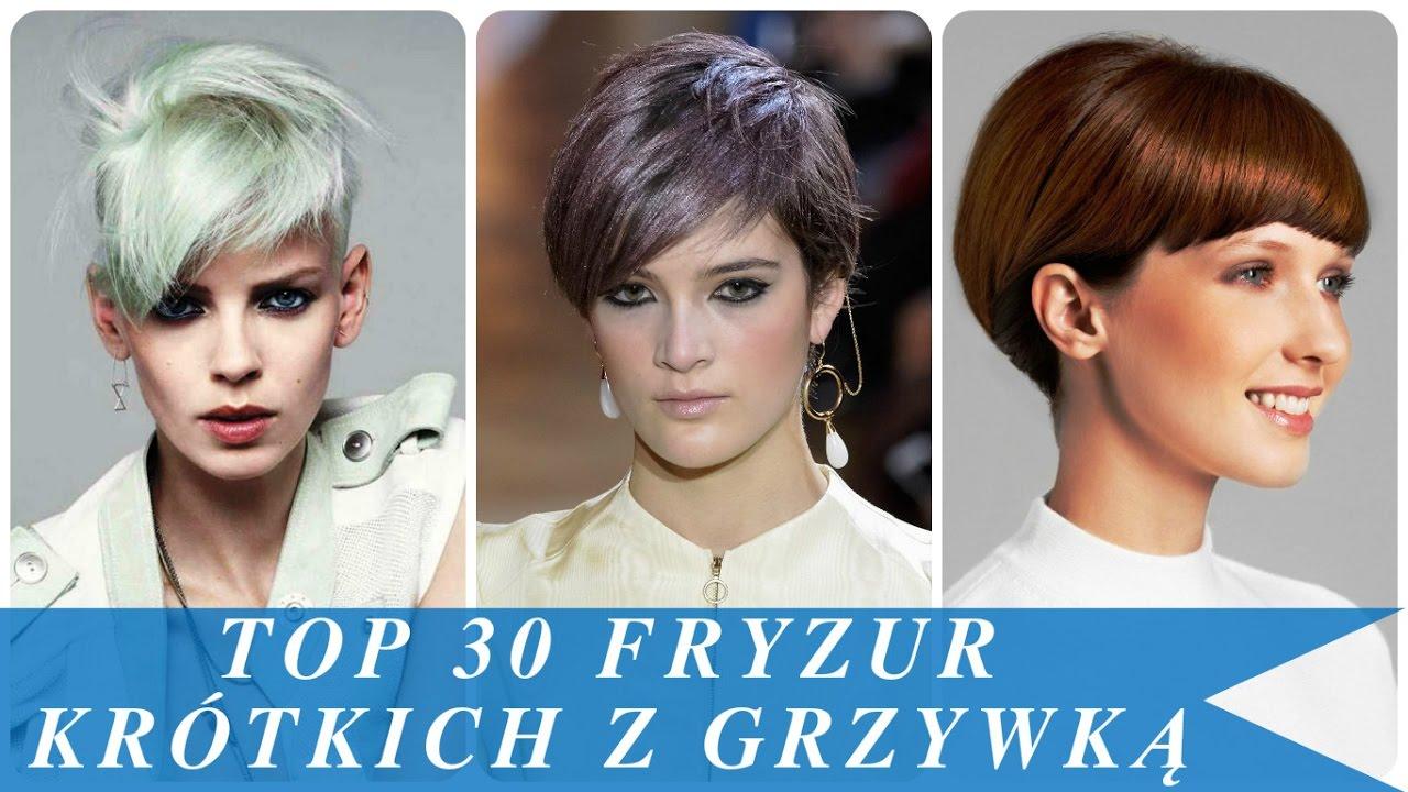 Top 30 Fryzur Krótkich Z Grzywką