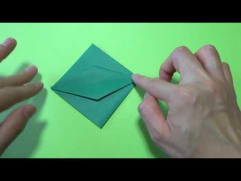 ハート 折り紙:ハロウィンかぼちゃ折り紙作り方-popmatx.com