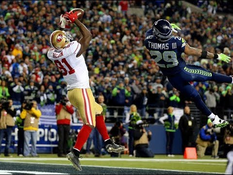 Anquan Boldin Touchdown NFC Championship vs Seattle Seahawks