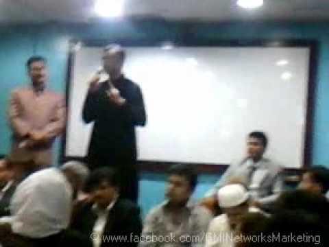 Views of GMI's Asian Upline Mr. Kamran Farhat |Central Office Karachi 22 Feb 2012|