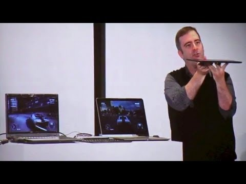 Intel Iris graphics performance demonstration