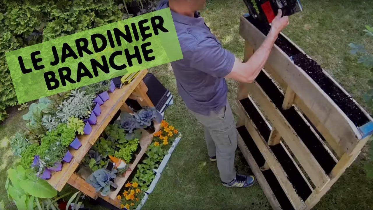 Un potager vertical plus qu 39 original youtube - Fabriquer un jardin suspendu ...