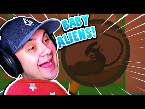 BABY FINDS ALIENS UNDER SISTERS BED?! | Baby Hands VR Gameplay (HTC Vive)