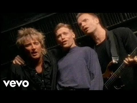 Bryan Adams, Sting & Rod Stewart - All for Love mp3 indir