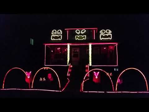 Gone Viral - Check out this this Halloween Light Show