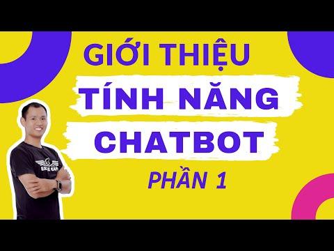 Chatbot là gì? Các tính năng cơ bản chatbot chatfuel miễn phí   Eroca Thanh