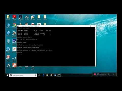 How to Format USB Pendrive Using CMD