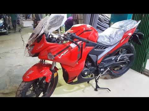 NEW Lifan KPR165R - Super Sport Bike Review - YouTube look
