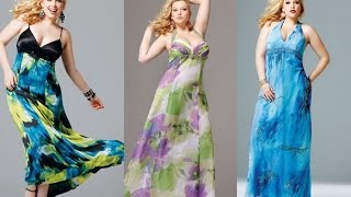 Top 100 Most beautiful plus size maxi dresses for women