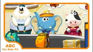 Dr  Panda´s Air Port Best Fun Apps For Kids l ABC For Kids TV