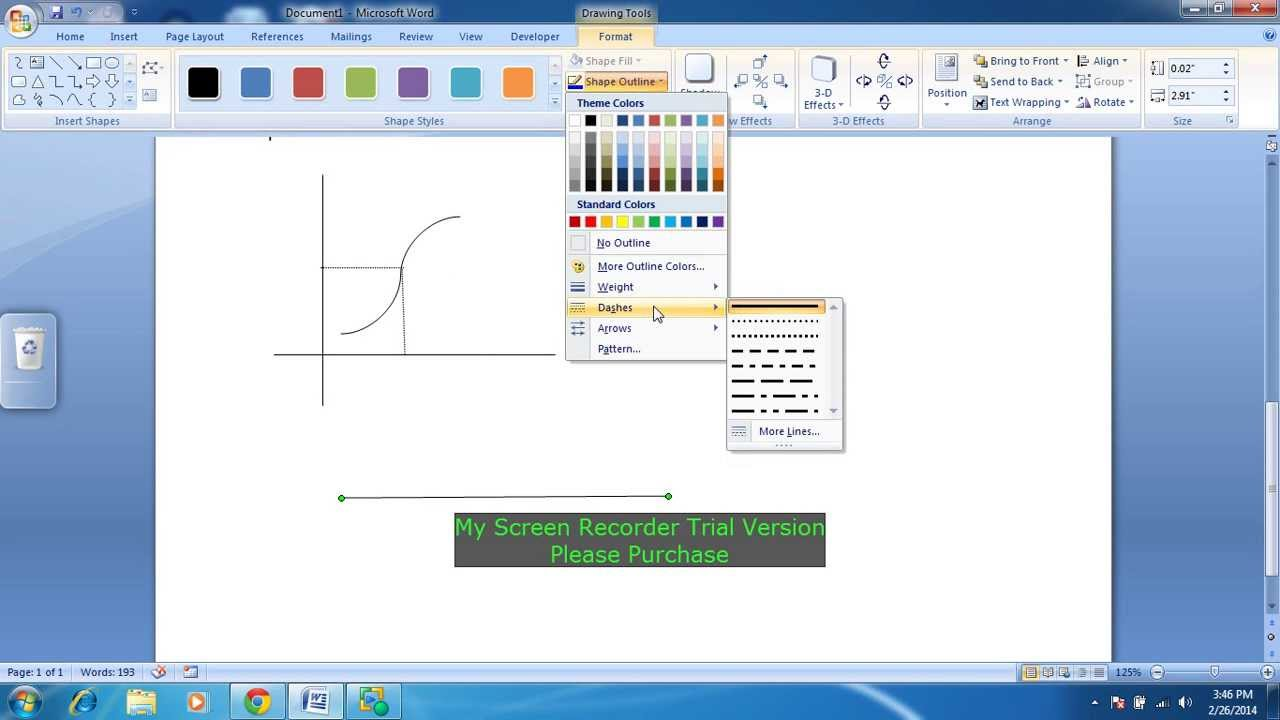Drawing Lines In Microsoft Word : How to make dotted line in ms word youtube