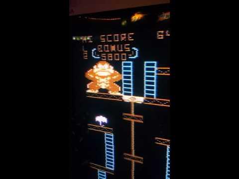 Atari 8-bit Donkey Kong hack