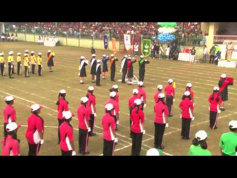 2 UHT March Past, Lighting of Torch, Oath Ceremony, Declaration of Sports Meet Open