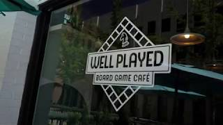 Employees Only |  Well Played Board Game Café