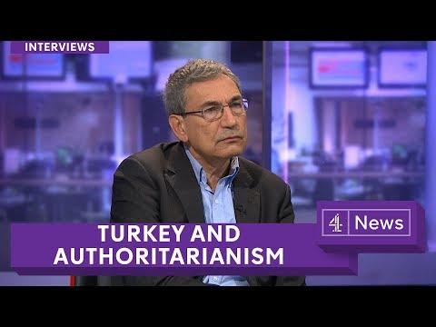 Nobel Prize-winning author Orhan Pamuk on Turkey and authoritarianism