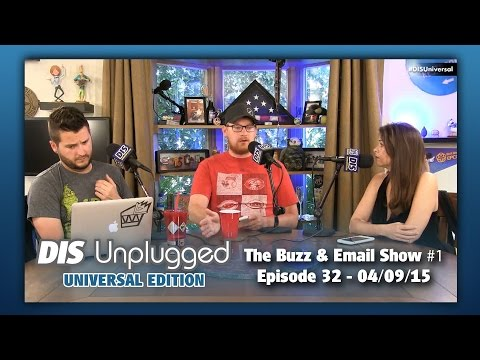 The Buzz & Email Show #1 | DU: UE | 04/09/15