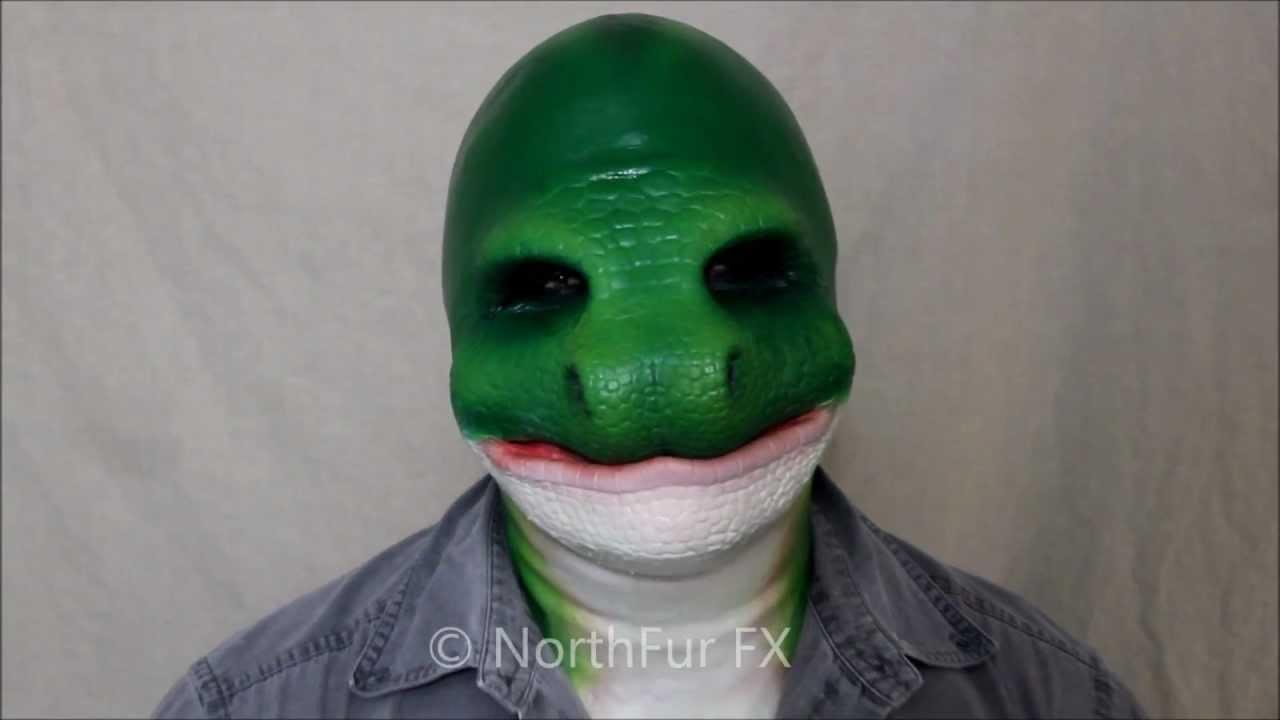 Foam Latex Snake Face Prosthetic Mask Youtube