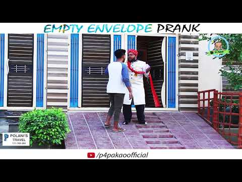 EMPTY ENVELOPE PRANK | By Nadir Ali In | P4 Pakao
