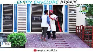 | EMPTY ENVELOPE PRANK | By Nadir Ali In | P4 Pakao | 2017